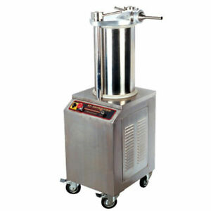 Hydraulic Pressure Electric Commercial Stainless Steel Vertical Sausage Stuffer