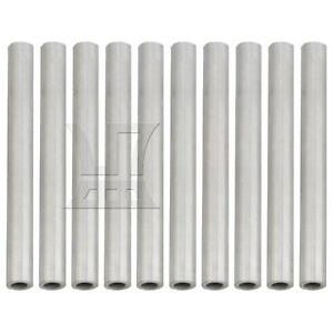10pcs Od10xid6x1 5x100mm 304stainless Steel Capillary Metal Tube Pipe Tubing