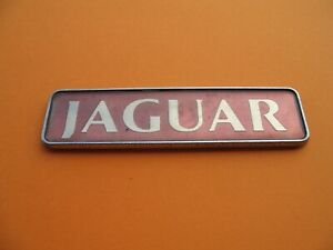 95 96 97 Jaguar Xj Xj6 Vanden Plas Rear Lid Emblem Logo Badge Sign Symbol Used