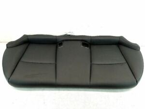 14 15 Infiniti Q50 Rear Seat Lower Portion Leather Black Oem 88300 4gb0a