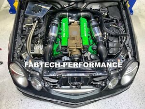 Mercedes Benz Carbon Fiber E55 Amg Intake Scoops Amg Supercharged Performance