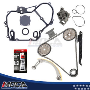 Timing Chain Water Pump Kit 00 08 Chevy Saturn 2 0 2 2 Dohc Ecotec Ref 9 4201s