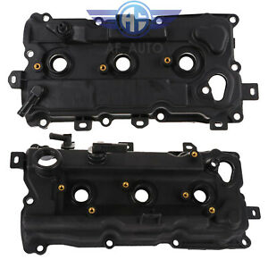 Lh Rh Engine Valve Cover With Gasket Fit 2009 2014 Nissan Murano Quest 3 5l V6