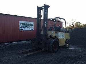 1992 Yale Gp080lc Propane 8000lb Straight Mast Forklift