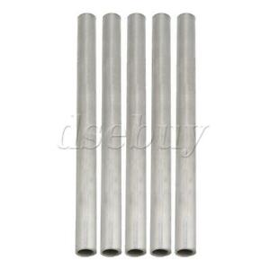 5x Od 15mm Id 12mm Length 200mm 304 Stainless Steel Metal Capillary Tube