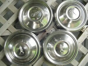 1968 68 Vintage Mopar Dodge Charger Plymouth Road Runner Hubcaps Center Caps