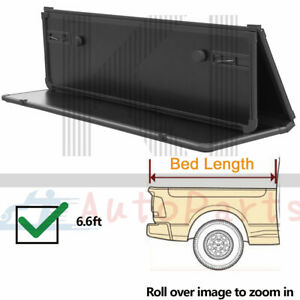 Hard Solid Tri Fold Tonneau Cover For 2014 2018 Silverado Sierra 6 5ft Truck Bed