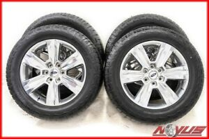 Oem 2018 20 Ford F150 Platinum Expedition Fx4 Polished Wheels Tires 22 24 18