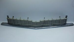 1963 Cadillac Coupe Sedan Deville Front Bumper Grill Grille Upper Section
