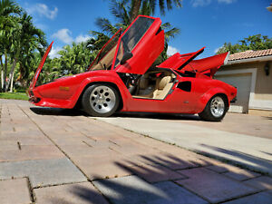 Lamborghini Countach 4 Wheels And Tires 15 Replica Fit Many Cars