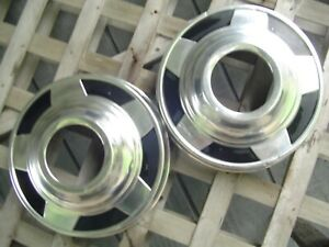 Two Gmc Chevy Pickup Truck Blazer Dog Dish Hubcaps Wheel Covers Center Caps 1 2