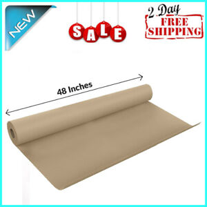 Usa Brown Kraft Paper Roll 48 X 1200 100ft Large Gift Wrapping Art Craft