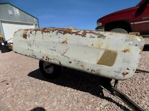 Vintage Allstate Sears Bumper Clamp Tailer 1950s 1960s Vw Bus Bug Ford Dodge Gmc