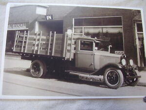 1930 1931 Chevrolet Stake Truck 11 X 17 Photo Picture