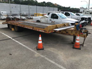 1991 Eager Beaver Deck Over Equipment Trailer Pintle 25 880 Gvwr 25 Deck