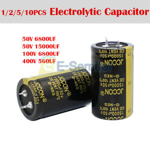 50 400v 560 6800uf High Frequency Low Impedance Radial Electrolytic Capacitor
