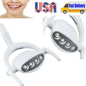 Portable Dental 4 Led Lamp Oral Cold Light Lamp For Dental Chair Unit 15w Usa