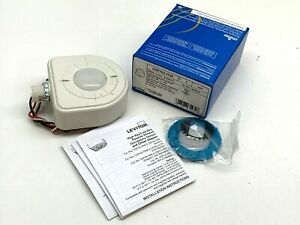 Leviton Osfhu itw High Bay Passive Infrared Occupancy Sensor 2 Lenses White