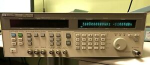 Hp 83732b Synthesized Signal Generator Options 1e1 1e8 10mhz To 20ghz