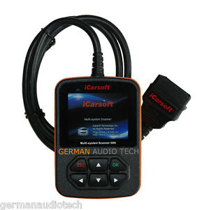 Obd2 Diagnostic Scanner Tool For Volvo Srs Abs Erase Clear Fault Code Icarsoft