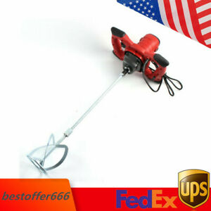 1500w Hand held Industrial Electric Concrete Cement Mixer Mortar Stirring Tool
