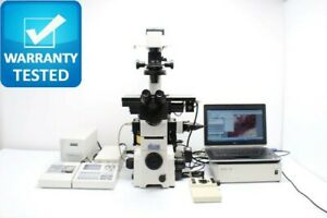 Nikon Te2000 e Pfs Perfect Focus Motorized Fluorescence Dic Microscope