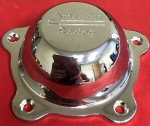 One Used American Racing Chrome Wheel Center Cap 3505293ch 54701570f 1 4971