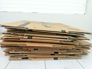 Heavy Duty Corrugated Cardboard Shipping Boxes Lot Of 30 Small medium Moving