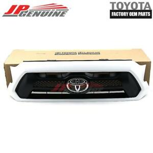 Genuine Toyota 11 16 Tacoma Oem Front Radiator 040 Painted Grille 53100 04481 A0