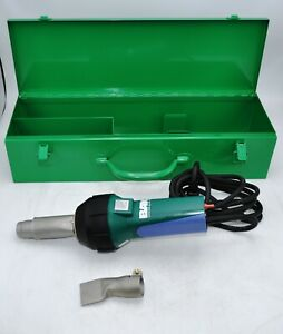 Bak Rion 120v Hot Air Welder Leister Roofing Tpo Pvc Plastic Vinyl Floor In Case