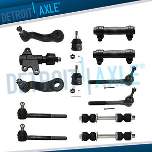 13pc Front Suspension Kit Chevy Gmc Trucks C1500 Suburban C2500 Yukon Tahoe 2wd