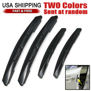 4x Car Door Edge Anti Scratch Guard Bumper Protector Moulding Strip Accessories