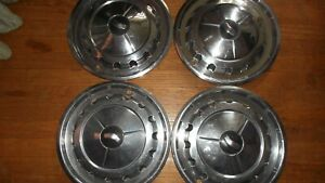 1957 Chevy Bel Air Hub Caps Wheel Covers Set Of 4