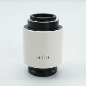 Zeiss 1x C mount Camera Adapter For Stemi Axio Microscopes 456105