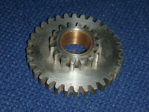 Used South Bend 9 10k Lathe Quick Change Gearbox Compound Gear 16 32 Fine Shape