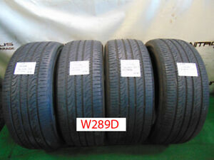 4 Ea 255 50 20 Yokohama Geolander G055 Full Tire Set 2555020 W289d 60 80 Tread