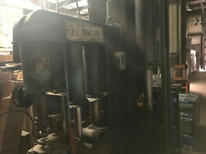 Hydraulic Suspension Press By Fortier