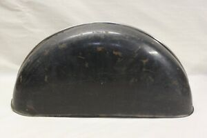 Original 1940 1941 Cadillac Side Mount Spare Tire Fender Metal Cover W Moulding