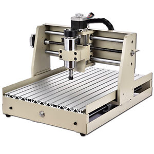 400w 4 Axis Cnc 3040 Router Engraver Parallel Port Pcb Engraving Milling Machine