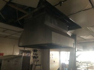 Walkaround 360 Stainless Hood Vent Commercial Kitchen