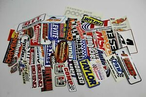 Grab Bag Lot Of 50 Hot Rod Drag Racing Stickers decals New