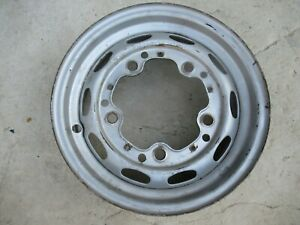 Porsche 356 Drum Brake Wheel Kpz 4 1 2 J X 15 Date Stamped 9 57 Fl 150