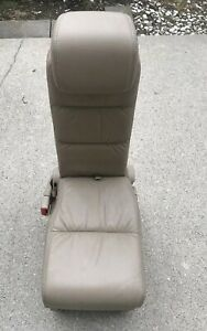2005 2010 Honda Odyssey Tan brown Leather 2nd Row Middle Jump Seat 06 07 08 09