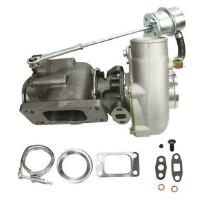 Hp Stage Iii Turbine Turbo Charger Wastegate V Band 350 T04e T04 T3 T4 63 A R