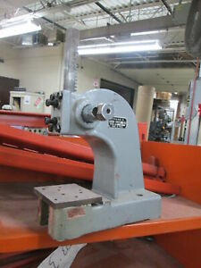 Phase Ii Model 260 100 1 2 Ton 5 throat Size Manual Operation Arbor Press