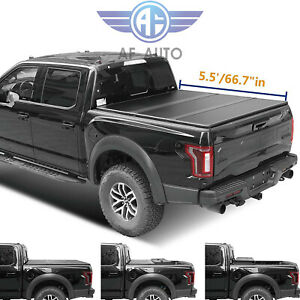 Hard Tri fold Tonneau Cover For Toyota Tundra 2007 2018 5 5ft Bed New