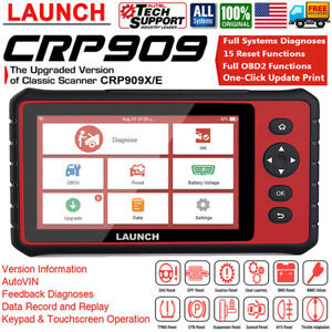 Launch X431 Crp909 Automotive Obd2 Scanner 7 Inch Android Diagnostic Tablet Tool