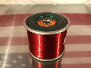 Spool Of Enameled Magnet Copper Wire 32 Awg Over 5lbs 5 Lbs Pounds