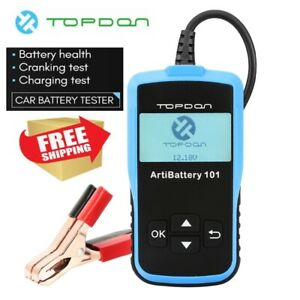 Auto Load Battery Tester Digital Analyzer Bad Cell Test For Car Boat Motorcycle