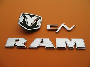 11 12 13 14 15 16 Dodge Ram C v Cv Rear Tail Gate Emblem Logo Badge Sign A275